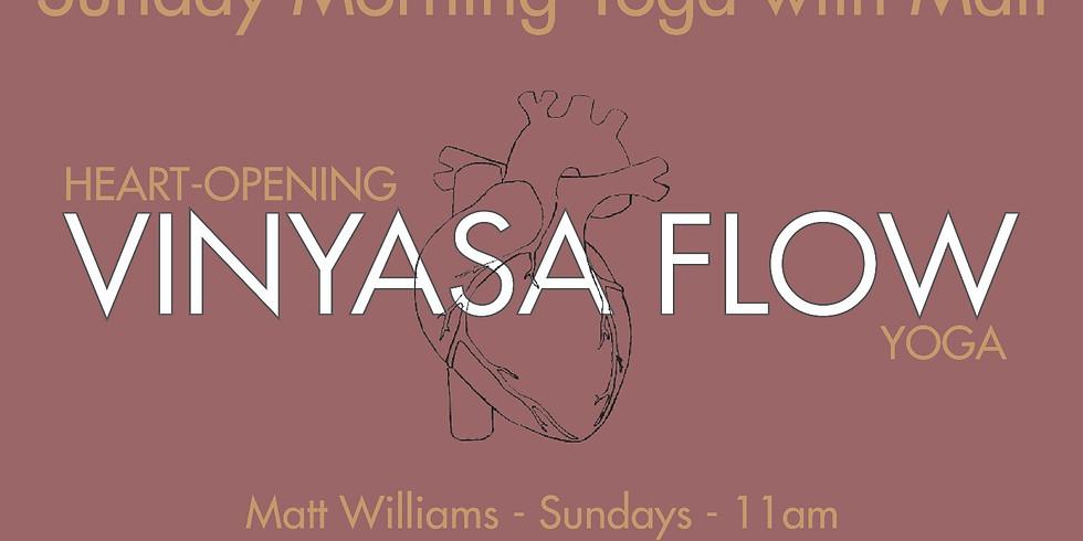 Heart Opening Vinyasa Flow