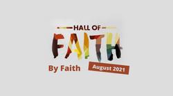 By Faith - The Hall of Faith