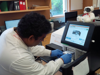 Roshan completes another batch of genomes!