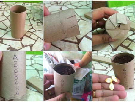 6 usos para o papelão em hortas e jardins