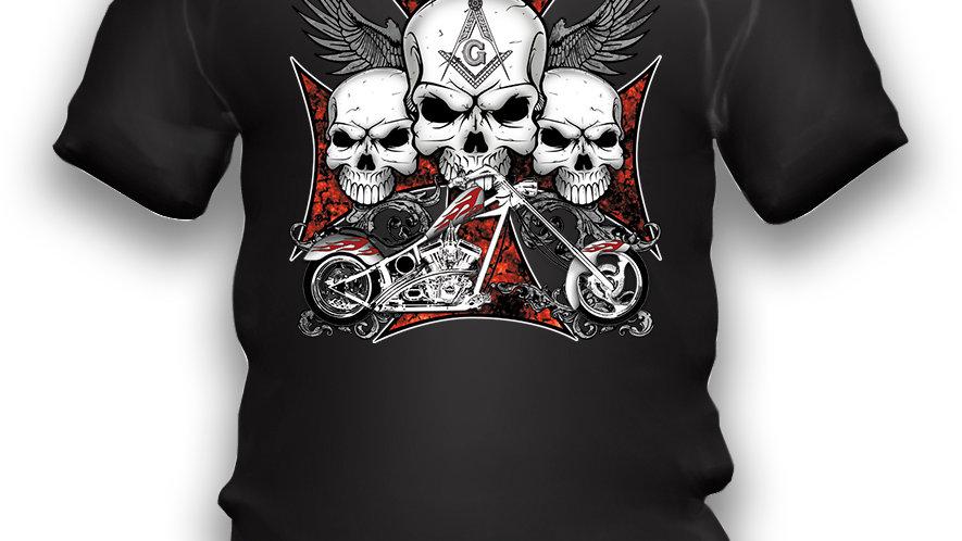 Camiseta Skull Malta
