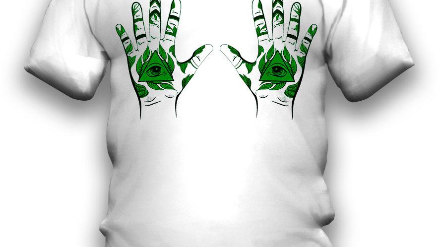 Camiseta Hands Eyes