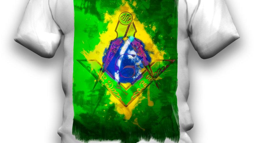 Camiseta Brazil M Flag