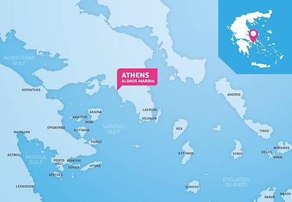 """Välj mellan """"Saronic Gulf"""" eller """"Cyclades Islands"""" när du utgår från Aten"""