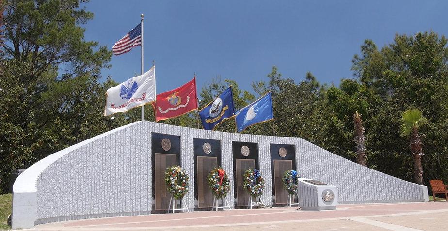 EOD Memorial in Niceville Florida