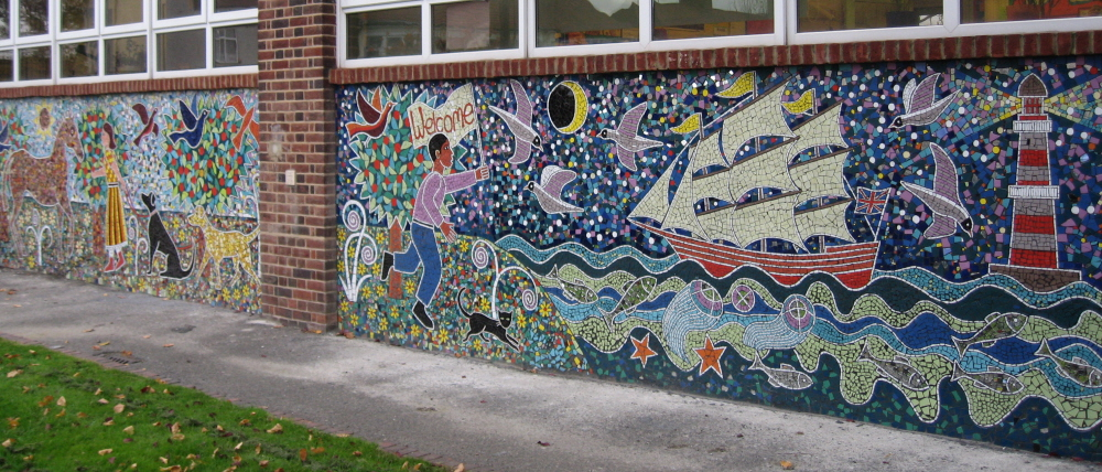 Redbridge primary school murals