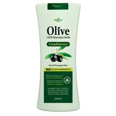 Olive Oil& Mountain Herbs for Dry& Damaged Hair