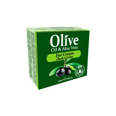 Olive & Aloe Vera Eye Cream for Dark Circles