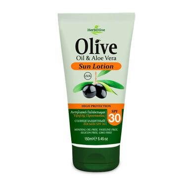 Olive Oil& Aloe Vera Sun Lotion SPF30