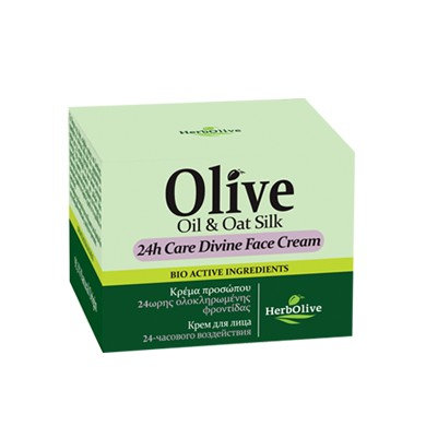 Olive Oil and Oat Silk 24h Care Divine Face Cream