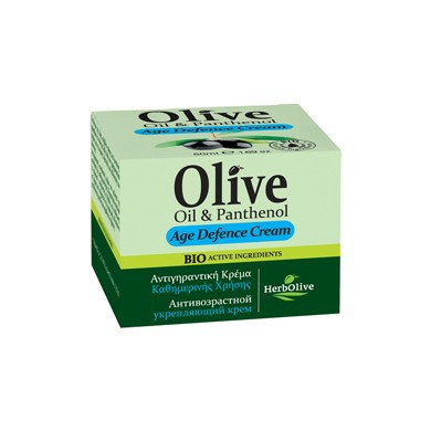 Olive Oil and Panthenol Age Defence Cream