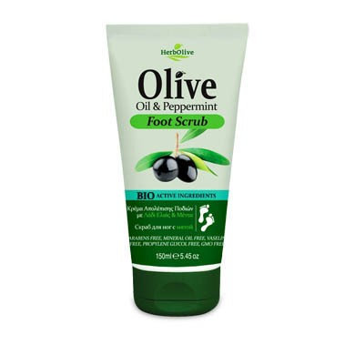Olive Oil& Peppermint Foot Scrub
