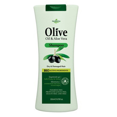 Olive Oil& Aloe Vera Shampoo for Dry& Damaged Hair