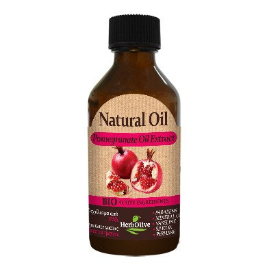 Natural Oil with Pomegranate Oil Extract