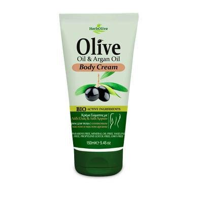 Olive Oil& Argan Oil Body Cream