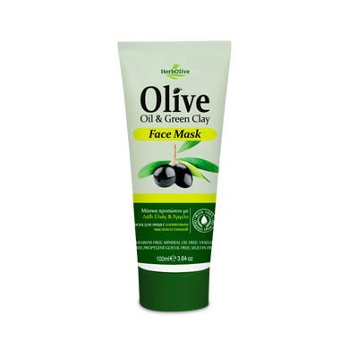 Olive Oil& Green Clay Face Mask