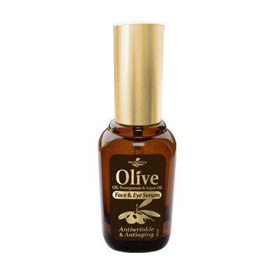 Olive Oil, Pomegranate& Argan Oil Eye Serum Antiwrinkle&Antiaging