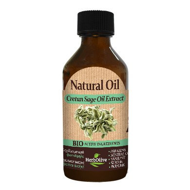 Natural Oil with Cretan Sage Oil Extract