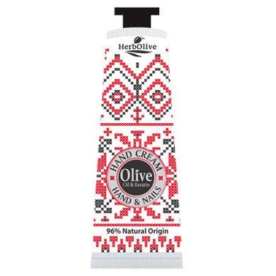 Olive Oil& Keratin Hand Cream Hand& Nails