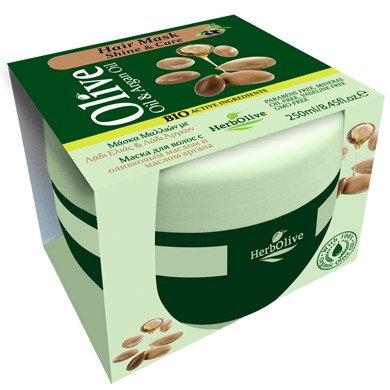 Olive Oil&Argan Oil Hair Mask Shine& Care