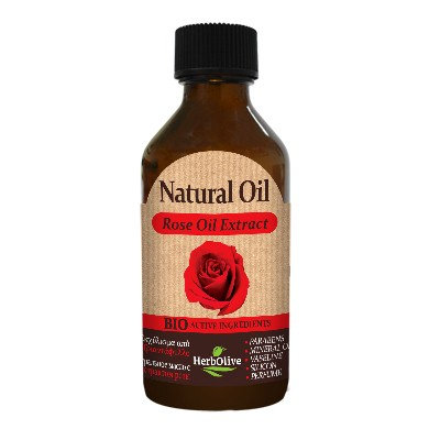 Natural Oil with Rose Oil Extract