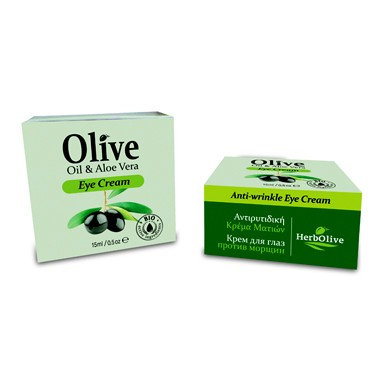 Olive Oil& Aloe Vera Anti-wrinkle Eye Cream