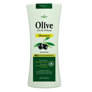Olive Oil& Wheat Shampoo for Normal Hair