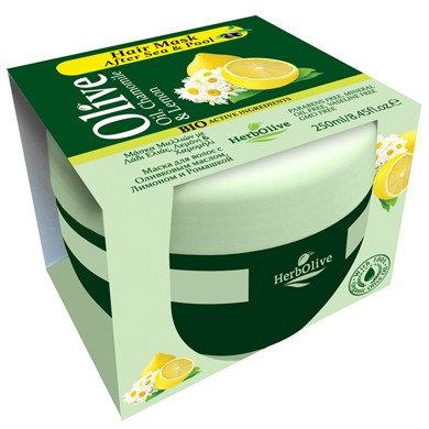 Olive Oil, Chamomile& Lemon Hair Mask After Sea& Pool