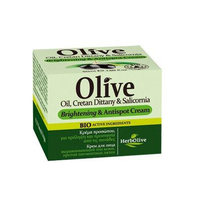 Olive Oil,Cretan Dittany and Salicornia Brightening & Antispot Cream