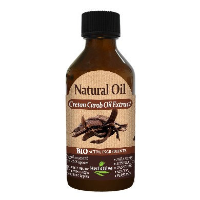 Natural Oil with Cretan Carob Oil Extract
