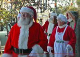 Santa and Mrs. Parade