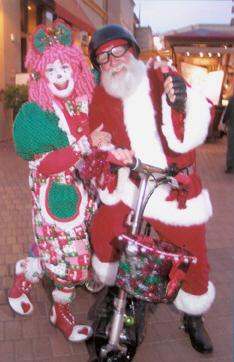 Santa and Clown
