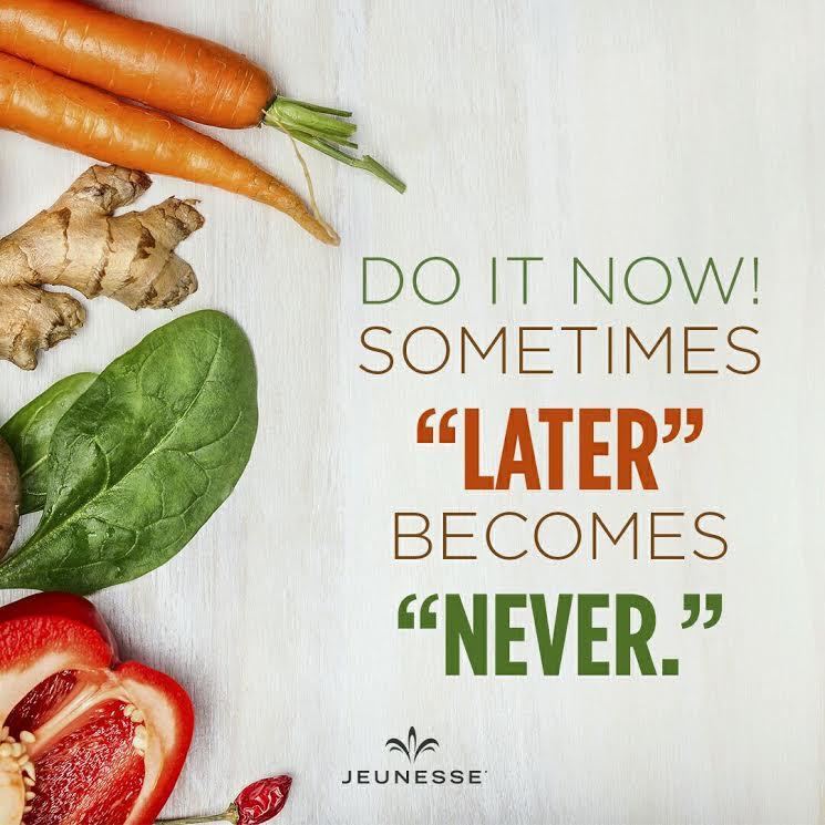 Aforisma Motivazione : Do it Now! - Jeunesse