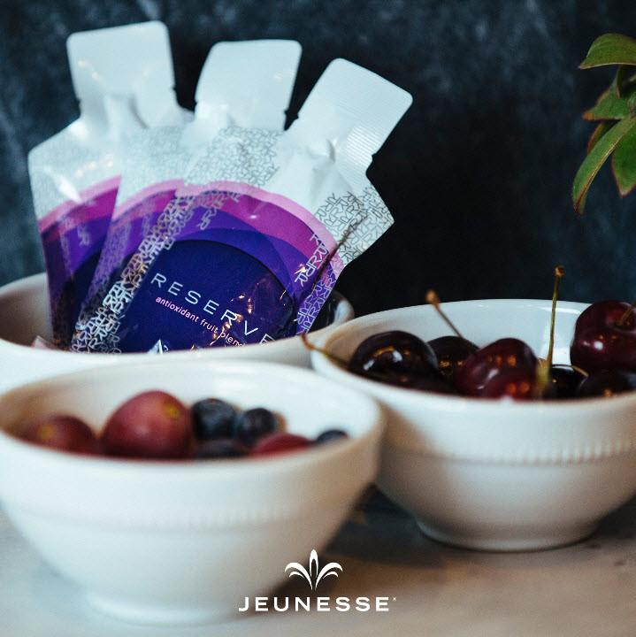 Il resveratrolo è contenuto nell'integratore Reserve di Jeunesse