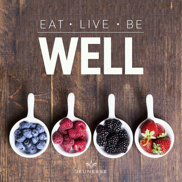 Frase del giorno : Eat Live Be Well! - Jeunesse