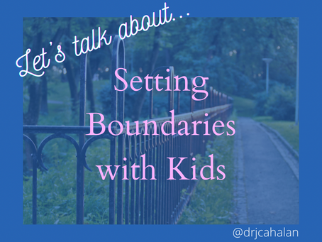 Setting Boundaries with Kids
