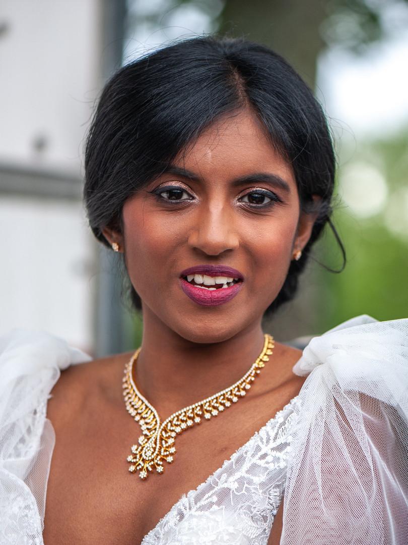 Maquillage mariée Nithya