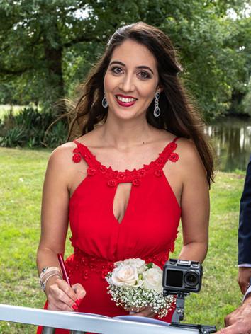 Maquillage témoin mariage Nithya