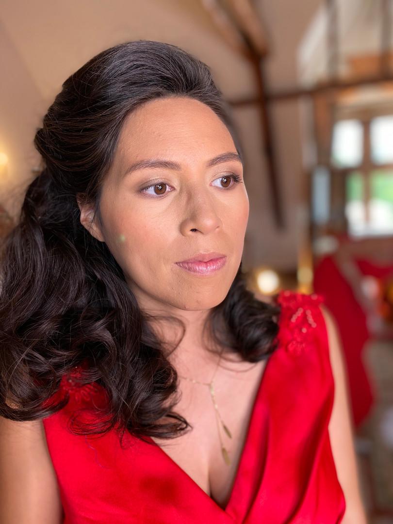 Maquillage témoin Nithya