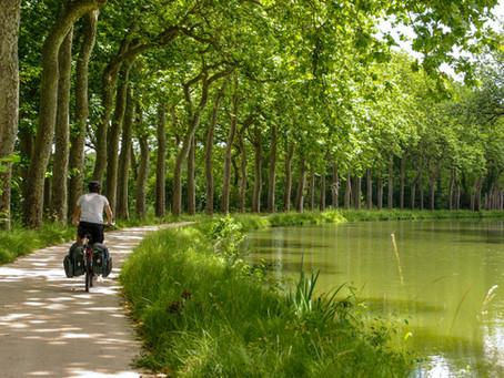 LE CANAL DES 2 MERS À VÉLO ENTRE TOULOUSE ET CARCASSONNE