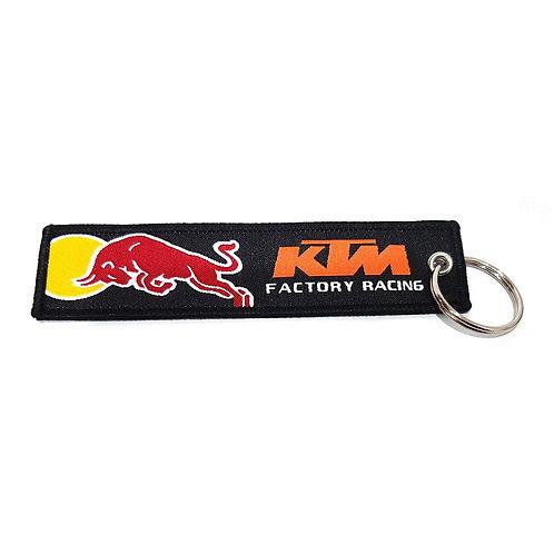 Red Bull KTM Keychain