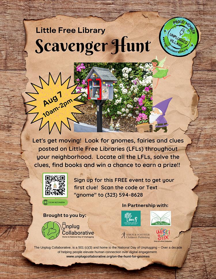 LFL Scavenger Hunt promo flyer.png
