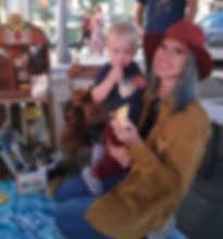 mom and son in booth.jpg