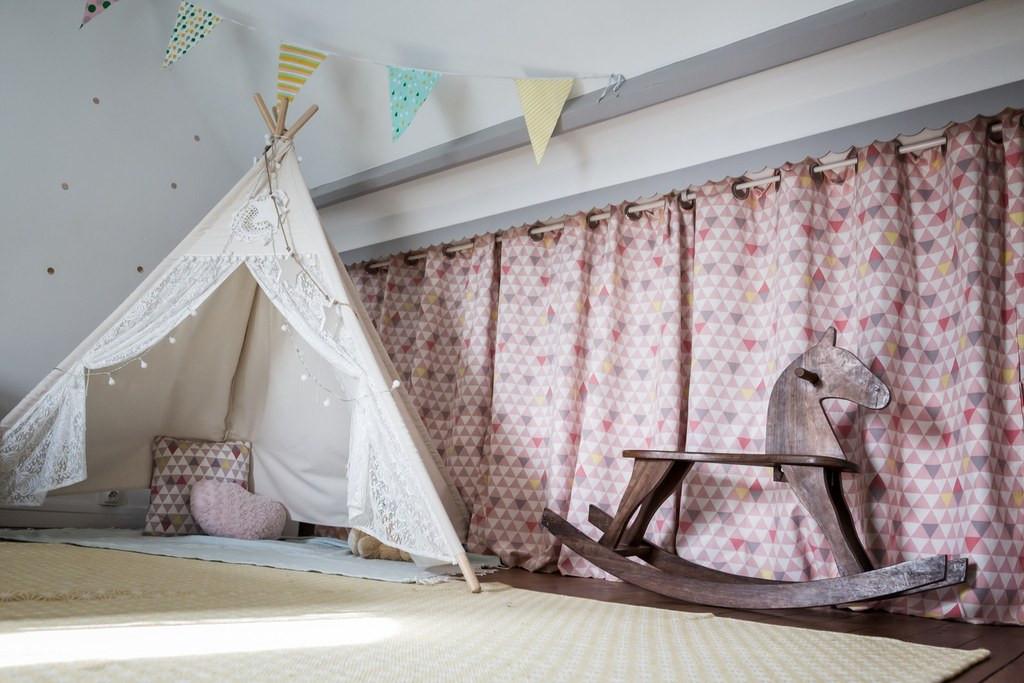 Chambre petite fille maison de Colombes