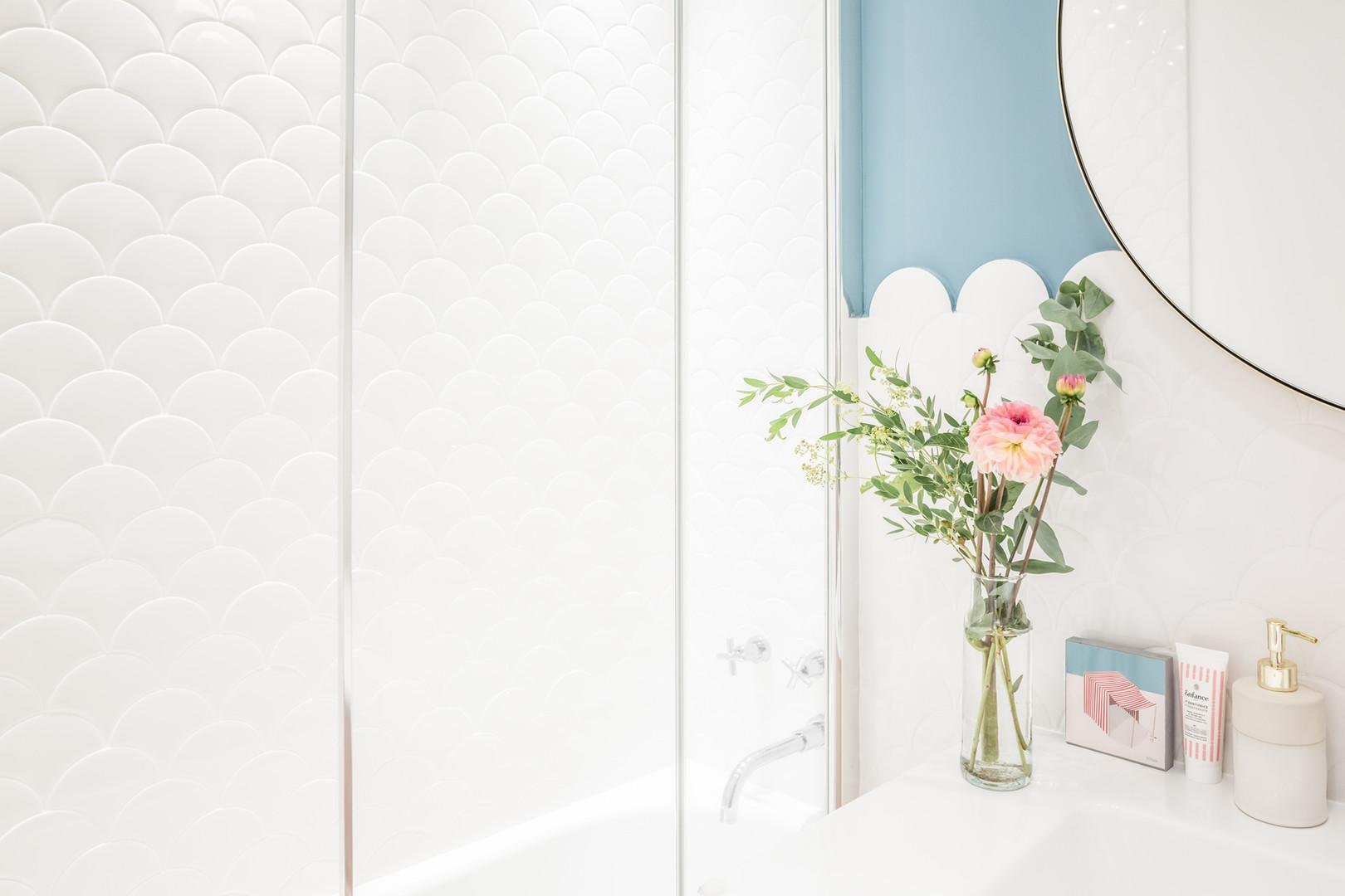 Détail salle de bain Jeanne