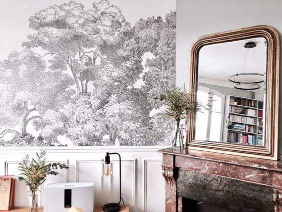 Salon maison de Colombes