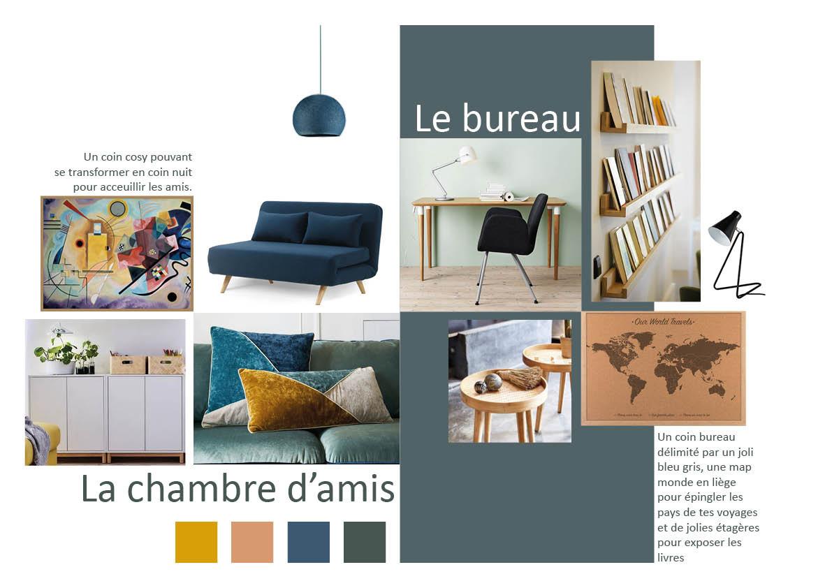 Chambre d\'amis/bureau appartement de Lille