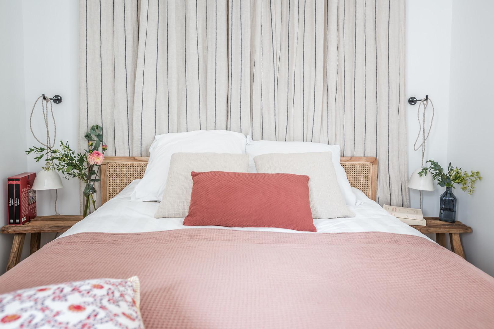 Tête de lit chambre d'amis