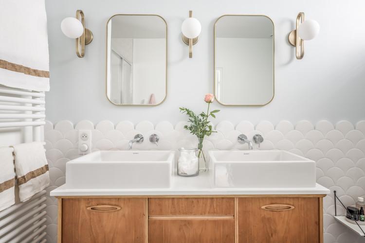 Salle de bain parentale projet avenue Milleret de Brou