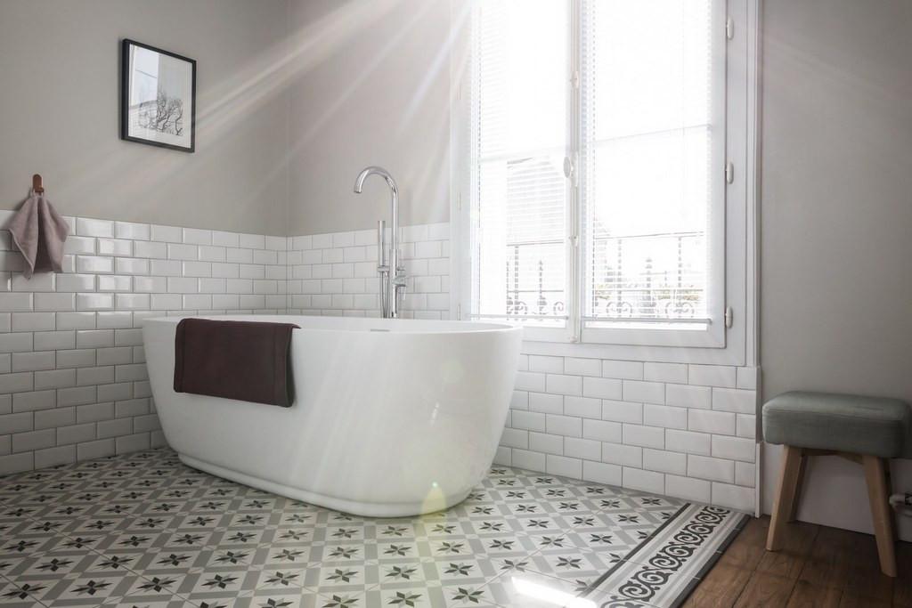 Salle de bain maison de Colombes